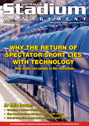 Football & Stadium Management (FSM) December January front cover